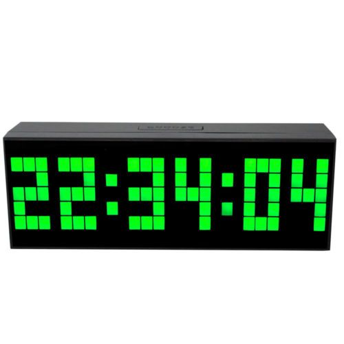 Led Digital Alarm Clock Kitchen Wall Clock Desktop Electronic Watch Timer Date Clock Table Clock Wall Clock