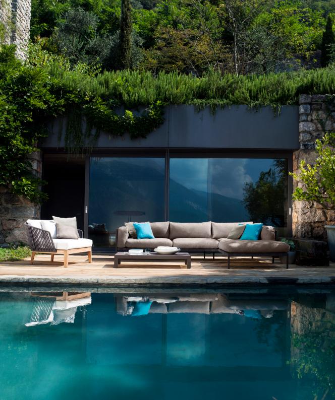 Tribù amazing outdoor sofa. #aquaquae. | Outdoors in aquaquae ...