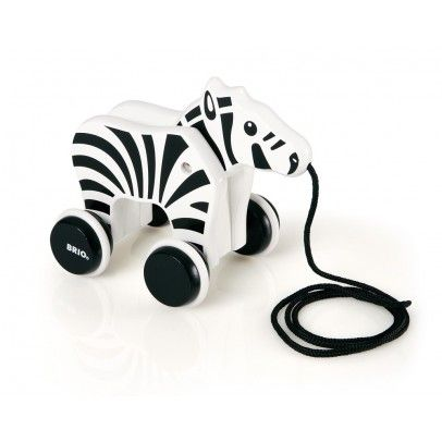 Pull Along Zebra Brio via: smallable | ➕ Kids stuff