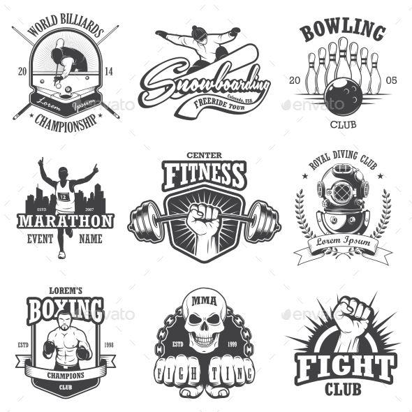 vector auto emblems from designbundlesnet t