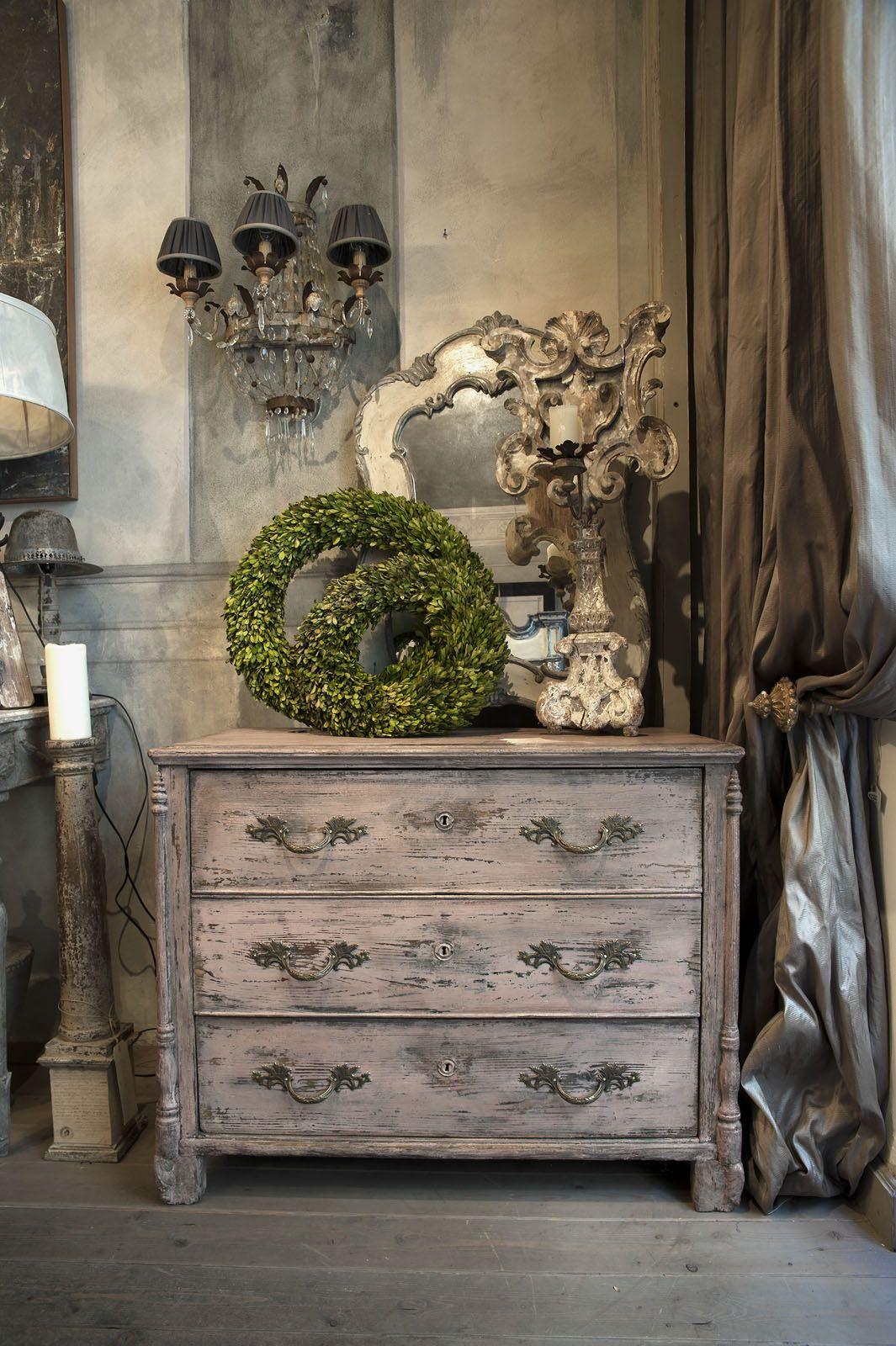Arredamento Shabby Toscana cassettone toscano 800 | mobili francesi, arredamento boho