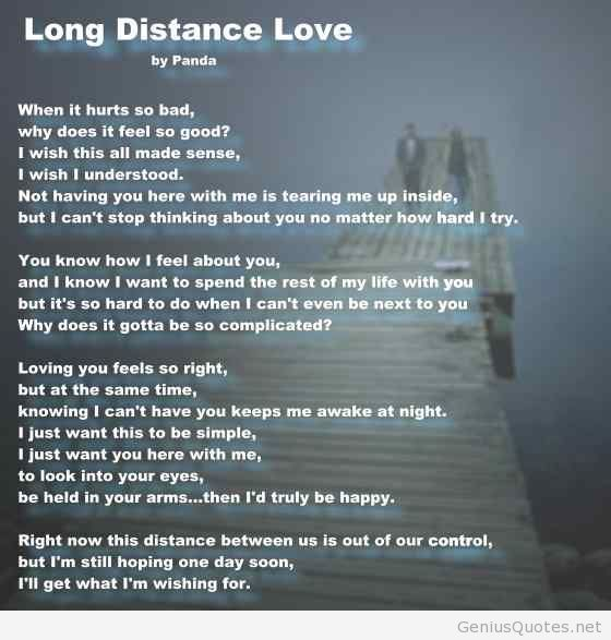 Long Distance Love Quotes Google Search My Sacred Space