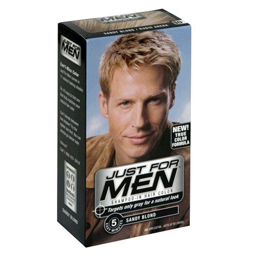 Just for Men Shampoo-In Hair Color, Sandy Blond 10, 1 application, (Case of 3) $23.97