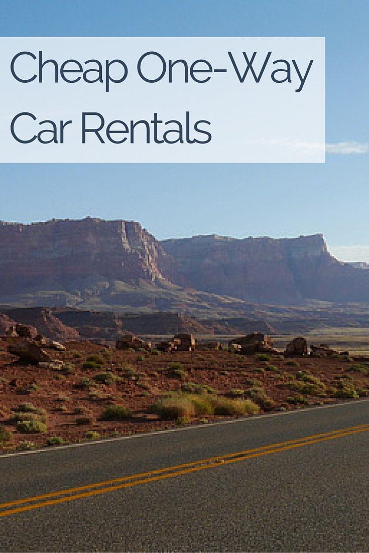 Cheap OneWay Car Rentals... Really? Really! One way car