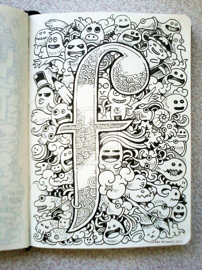 DOODLE ART F Is For Fun By Kerbyrosanes On DeviantART