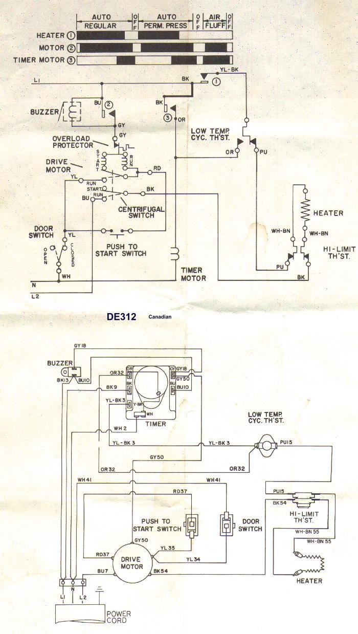 Ge Dryer Start Switch Wiring Diagram