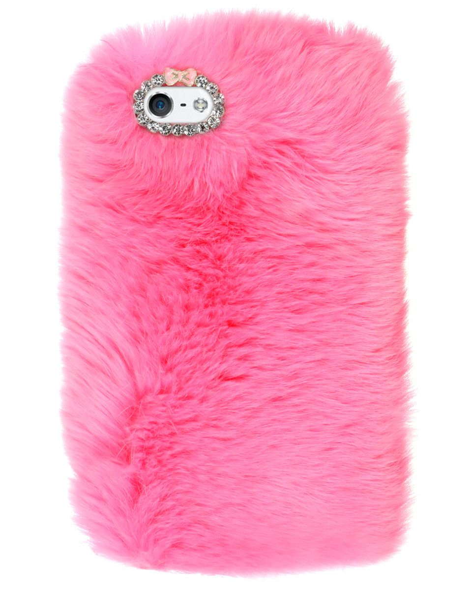 EXTRA FURRY BUBBLEGUM IPHONE CASE - iPhone 6 from Shop Jeen
