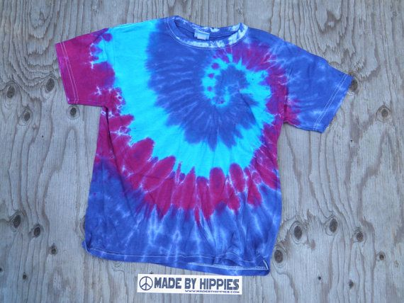 Cool Spiral Tie Dye T-Shirt