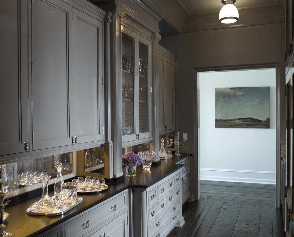 Etonnant Westport House | Heiberg Cummings  Dove Gray Cabinets Yummy! (especially  With Dark Wood Floors).