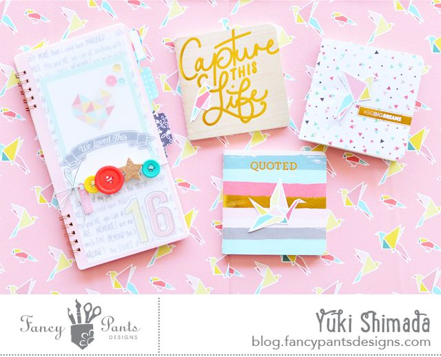 Alter Ego: Happy Notebooks | Fancy Pants Designs Studio