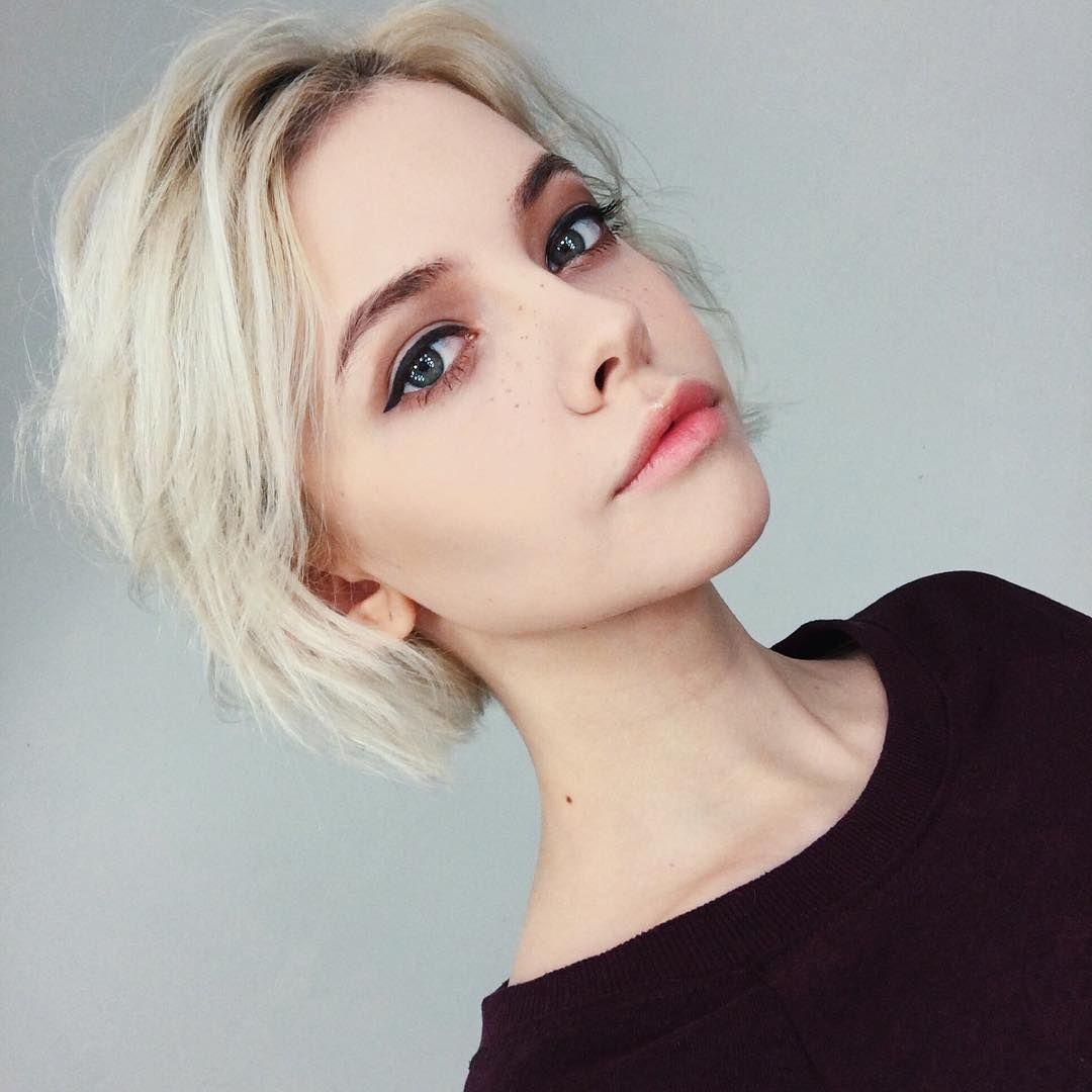 Oc lilly beauty pinterest oc makeup and short hair