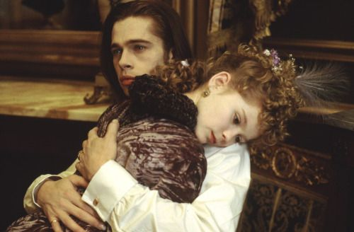 Brad Pitt and Kirsten Dunst in Interview with the Vampire (1994)