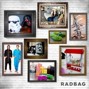 In need of a unique gift for Christmas, a birthday or any other occasion? On Radbag you fill find something special for anyone!