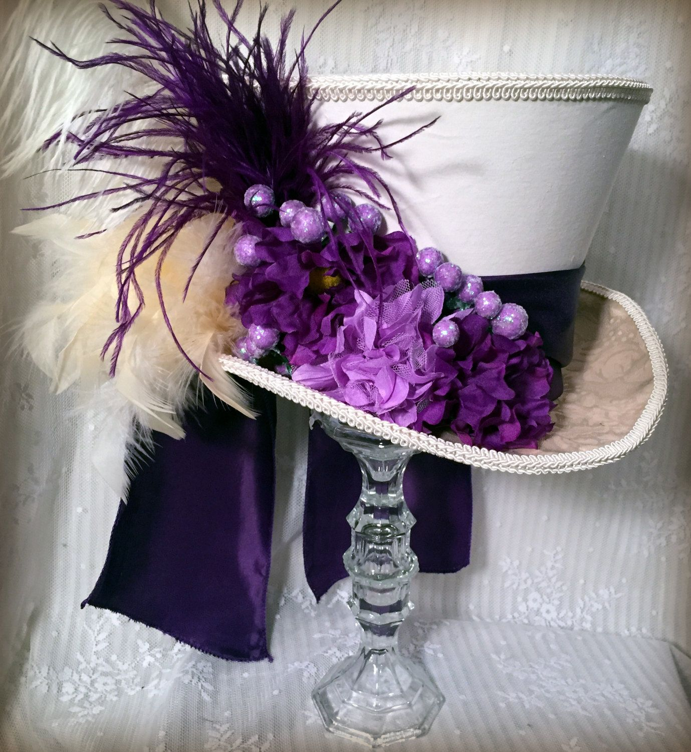 Mad Hatter Tea Party Centerpiece, Mad Hatter Hat, Alice in ...