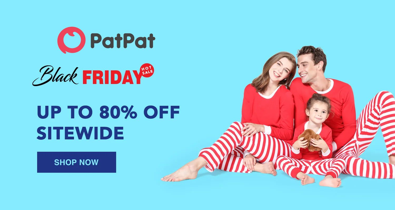Patpat Blackfriday Get Up To 80 Off Sitewide Dress Clothing Fashion Womens Womenwear Baby Kids Christmas Patpat Kids Outfits Women Wear