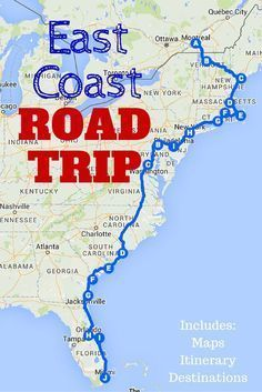 Photo of The Best Ever East Coast Road Trip Itinerary