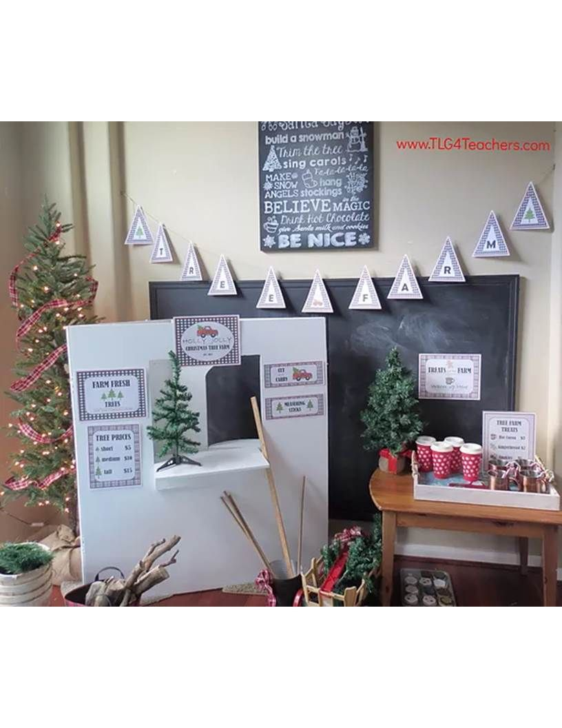 Christmas Tree Farm Dramatic Play Dramatic Play Preschool Farm Preschool Dramatic Play