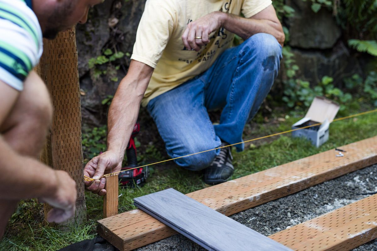 How To Build A Boardwalk In 2020 Wood Walkway Dunn Lumber Lawn Maintenance