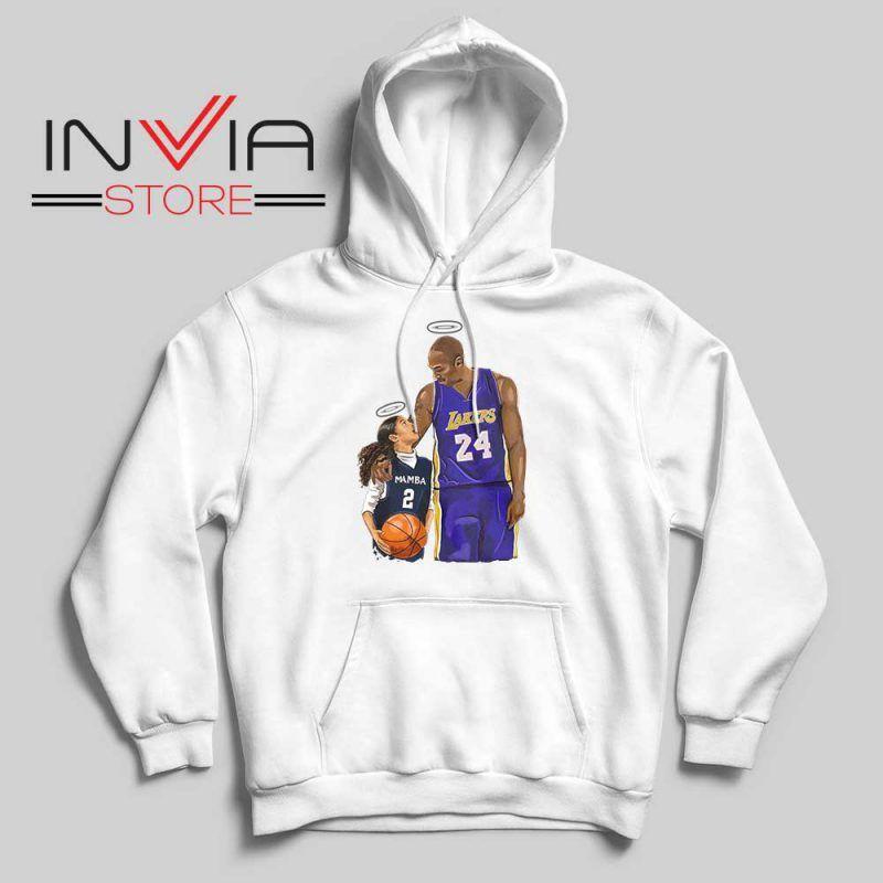 Kobe Bryant And Gigi Bryant Nba Hoodie La Lakers Merch S 2xl In 2020 Performance Hoodie Hoodies Supreme Hoodie