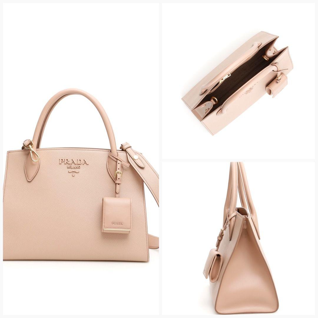 7b55b8213091af Prada monochrome handbag - See details & price here:  https://italystation