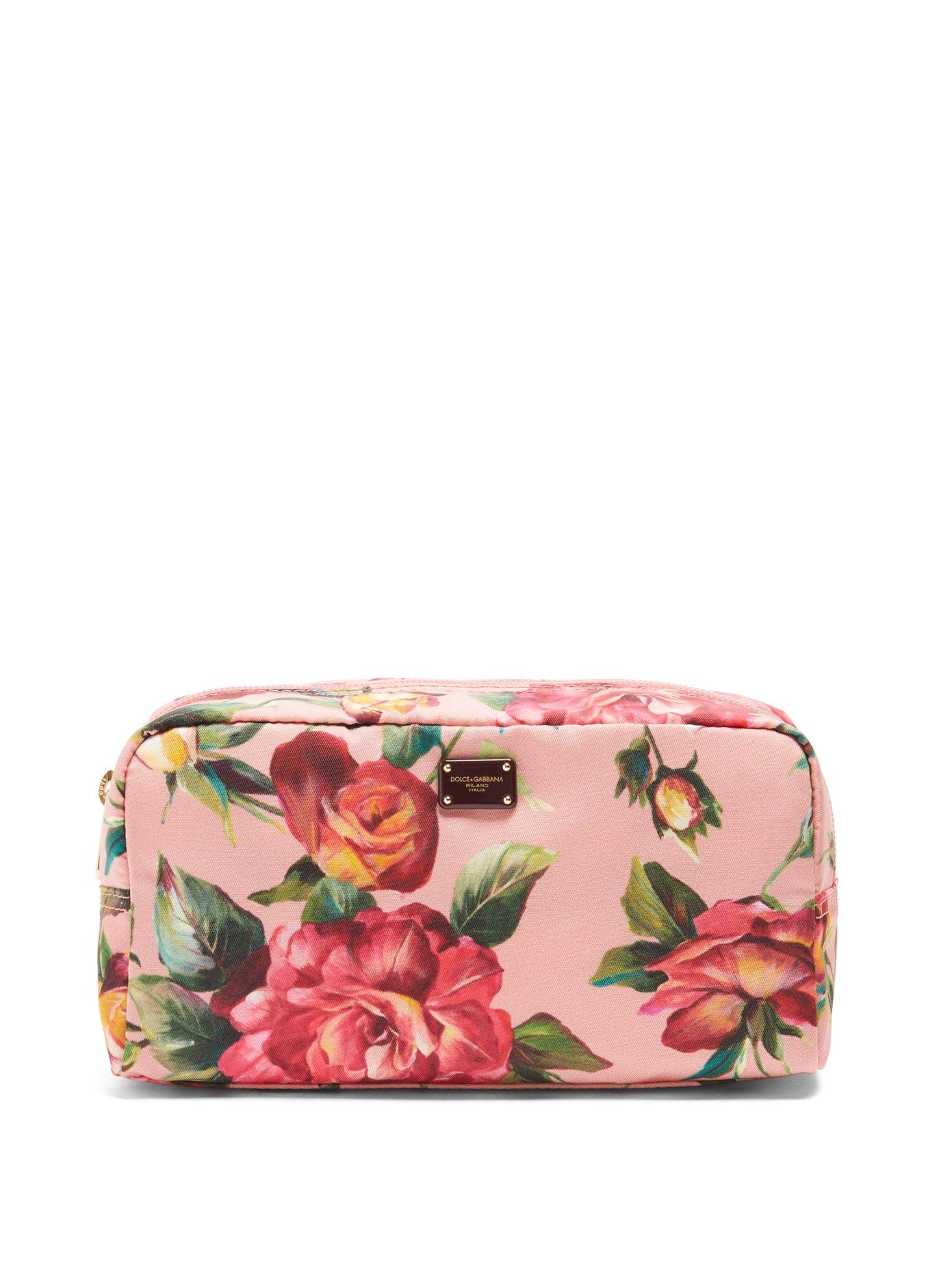 Estampado De Flores Washbag Tela De Dolce & Gabbana CDYpBRAa1