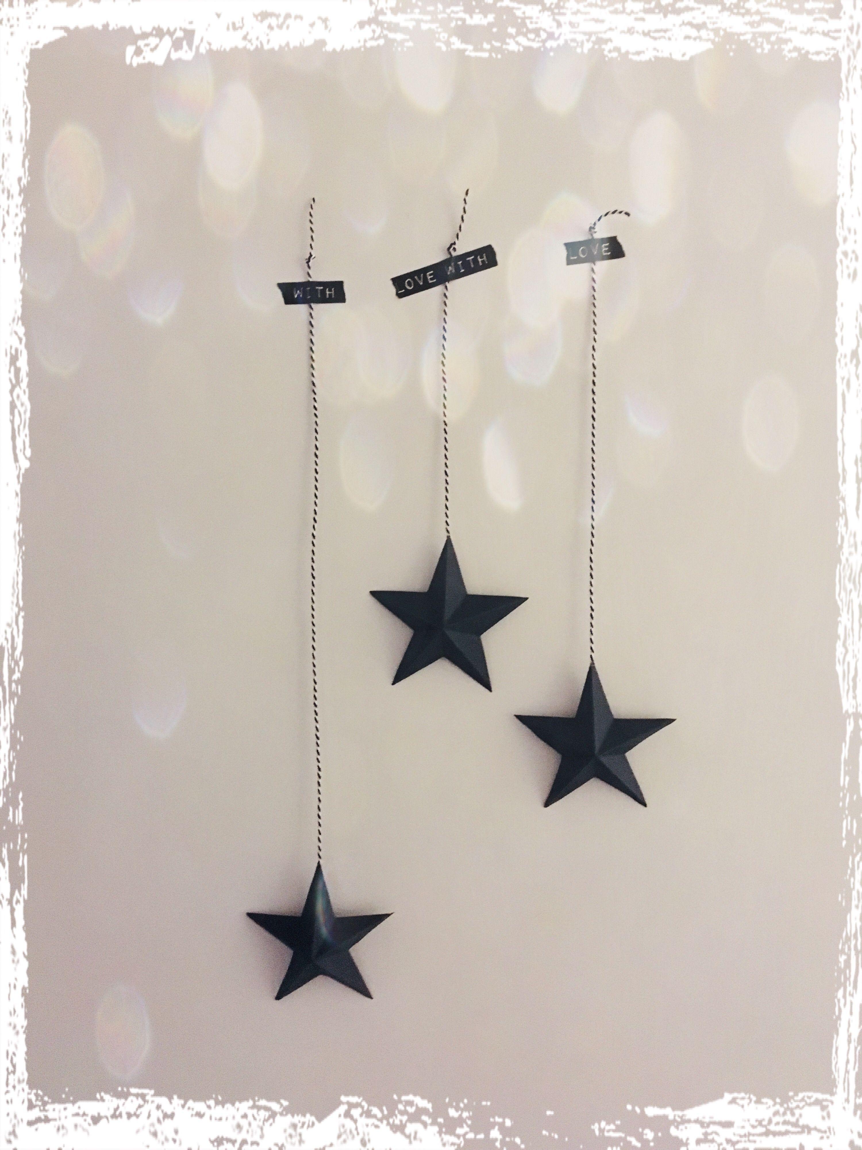 Schnelles DIY - 3D Sterne aus Papier #3dsterneauspapier