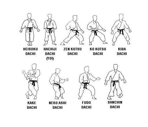 Martial Arts Stance Karate Martial Arts Kyokushin Karate Karate Kata