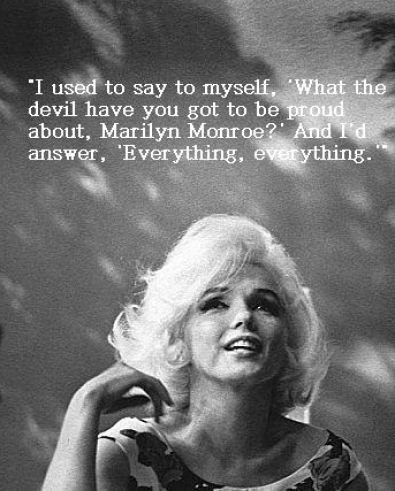 Marilynmonroequotes Marilyn Monroe Quotes About