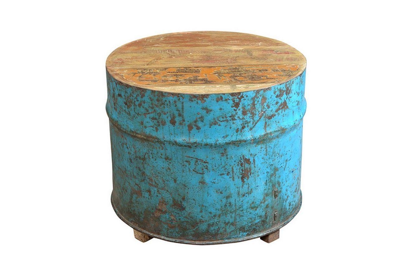 Couchtisch Unikat Blau Kleinmobel Amp Beisteller Vintage Amp Retro Mobel Couchtisch Rustikale Couchtische Retro Mobel