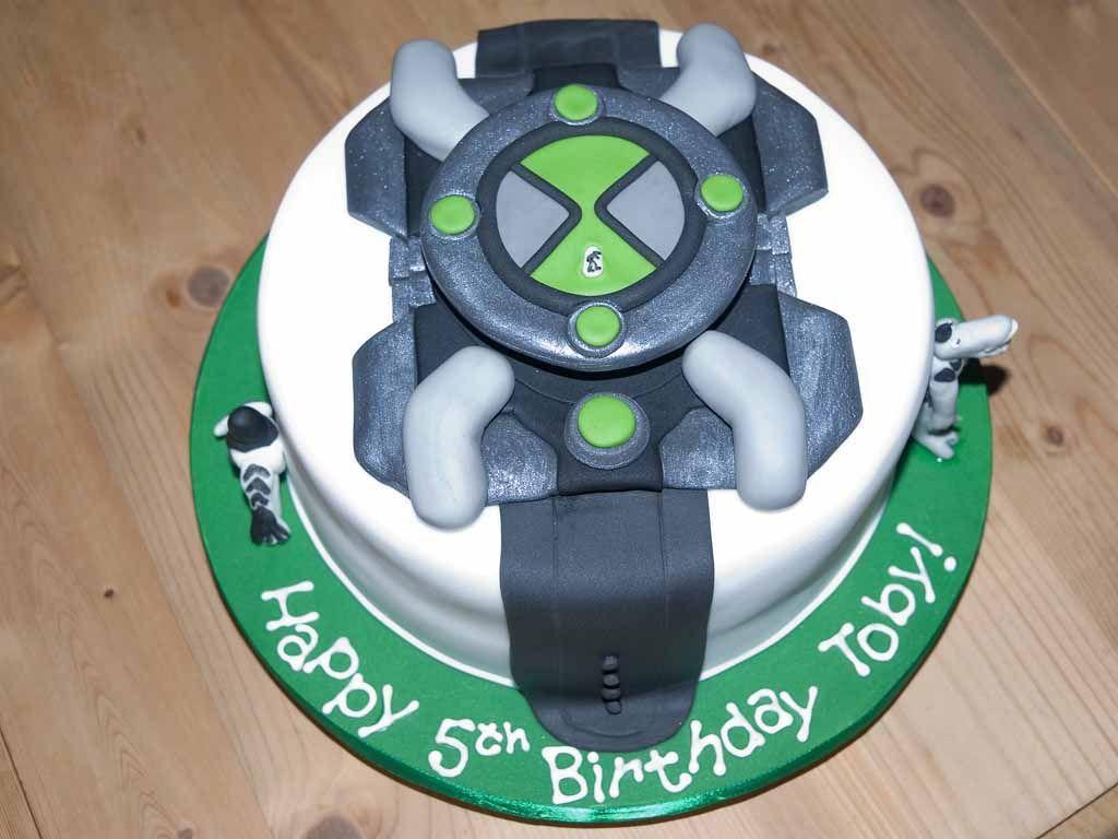 Ben10 Omnitrix Cake Ben 10 Birthday Ben 10 Cake