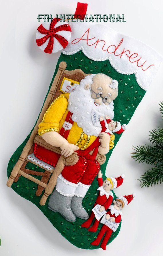 Santa  Scout Elf Bucilla 18\