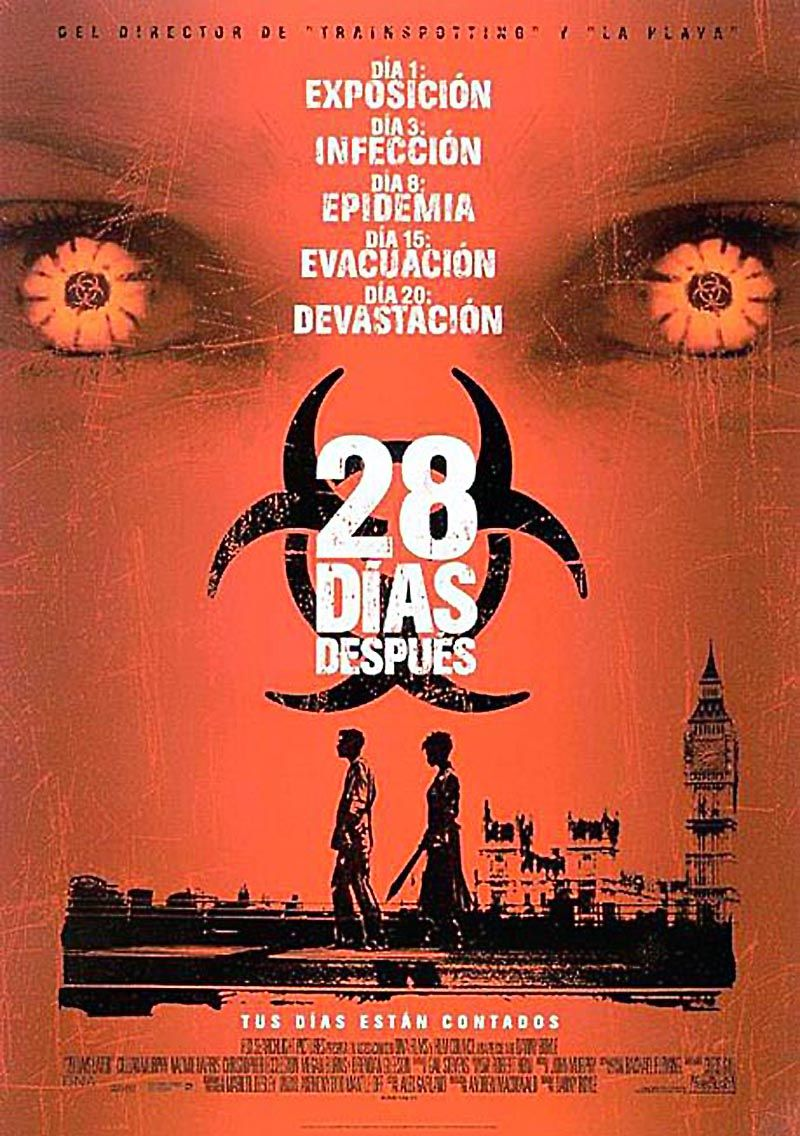 28 Dias Despues 28 Days Later De Danny Boyle 2002 28 Days Later Full Movies Online Free Halloween Movie Night
