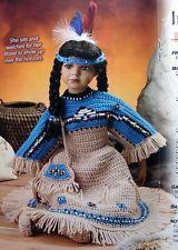 Native+American+Doll+Crochet+Patterns | Crochet PATTERN ONLY ~ 4-Piece 22 #airfreshnerdolls