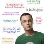 Sheldon Cooper Quotes - The Big Bang Theory