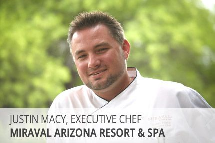 Executive Chef Justin Macy shares his passion for the culinary industry.