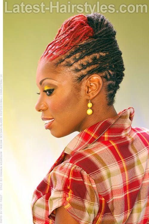 Awe Inspiring Dreads Updo And Ropes On Pinterest Short Hairstyles For Black Women Fulllsitofus