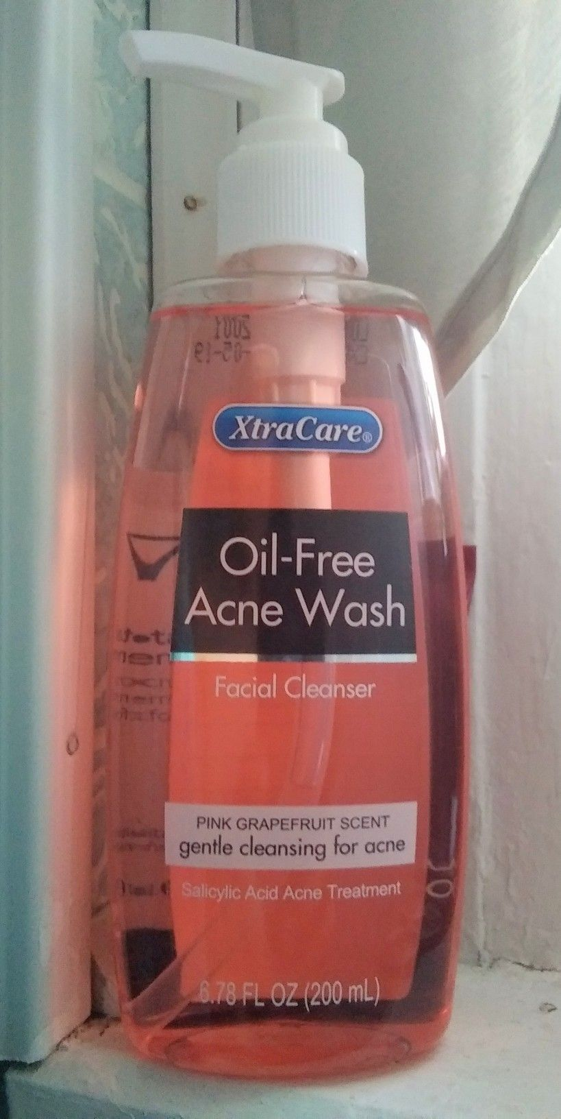Hollar Com Xtracare Oil Free Acne Wash Facial Cleanser Pink