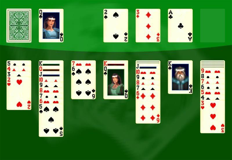 азартная игра косынка