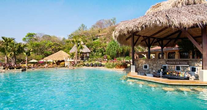 Costa Rica Vacations >> Take A Swim To The Pool Bar At Hilton Papagayo Costa Rica