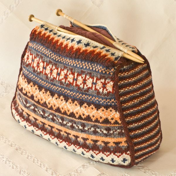 Pattern: Fair Isle Bag | Knitting Was My First Love | Pinterest ...