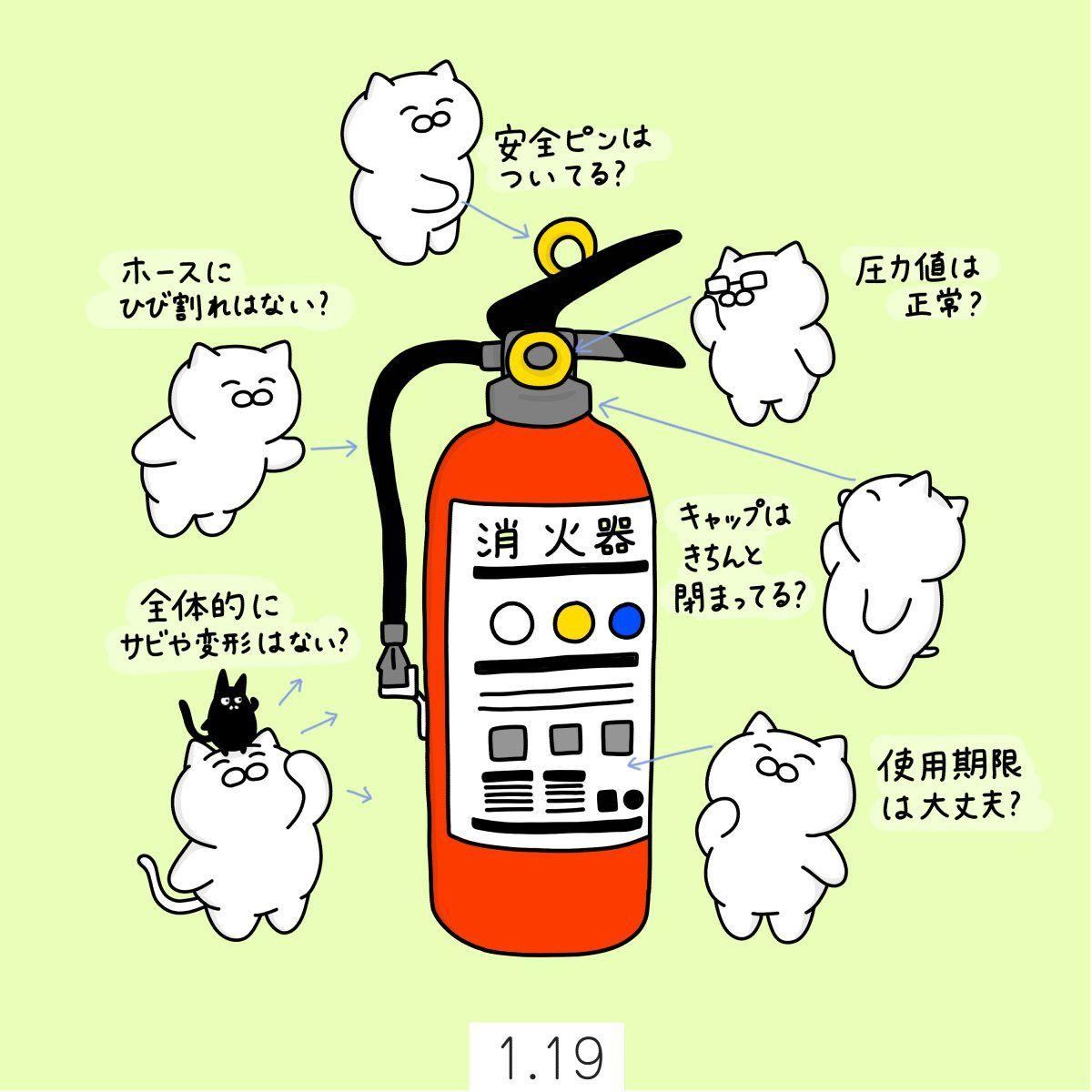 点検 アプリ 器 消火