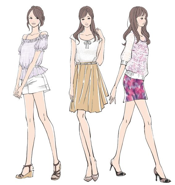 Learn How To Sketch Fashion Clothes
