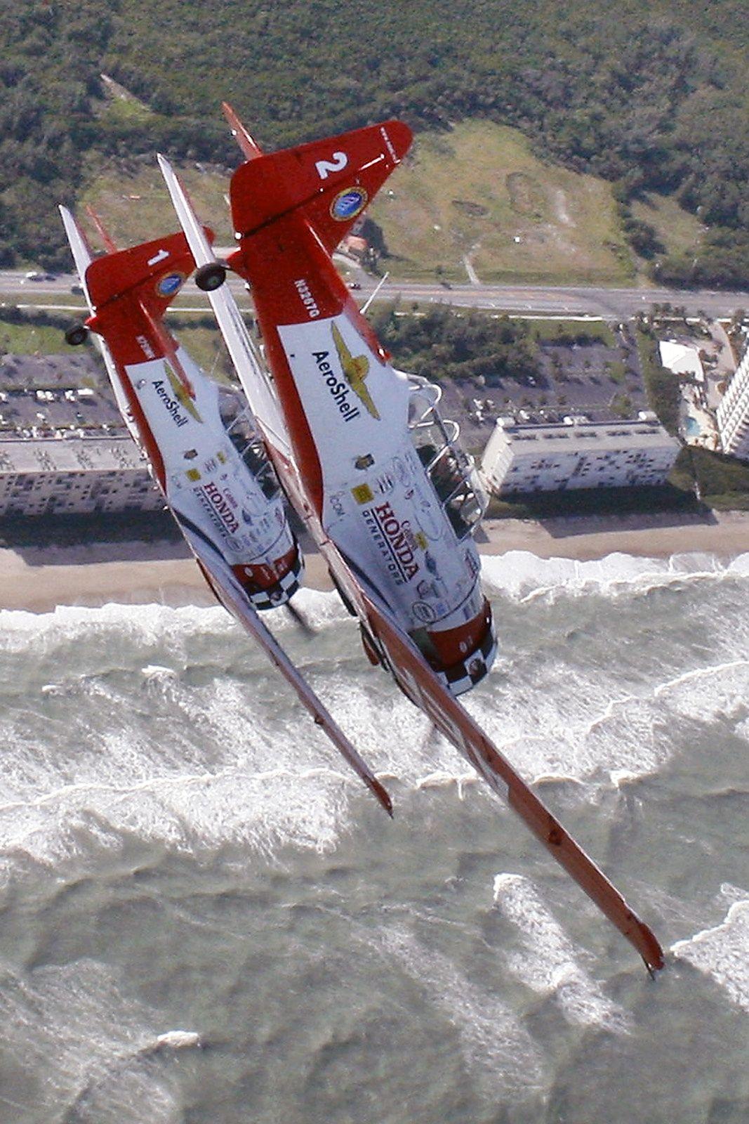 Aeroshell Stunt Team by Mitch Kloorfain on 500px, Florida