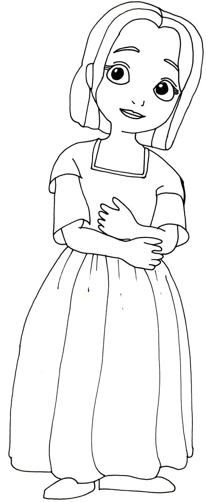 sofia the first coloring pages jade - Sofia Coloring Pages