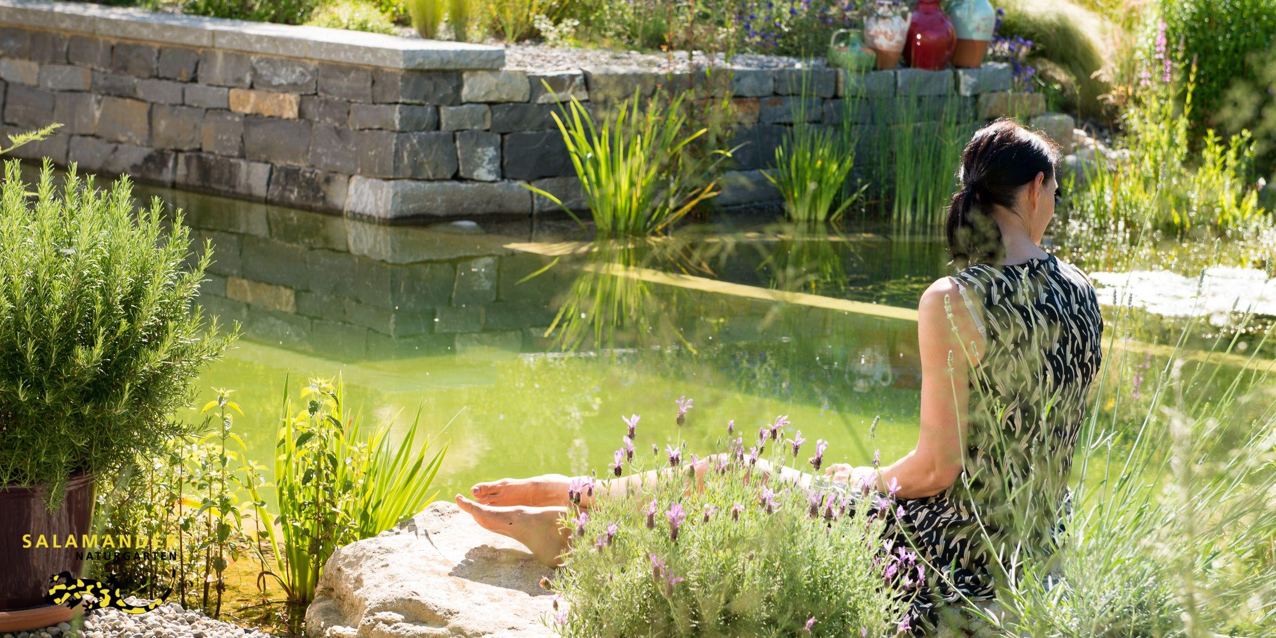Schwimmteich Naturpool und Biopool