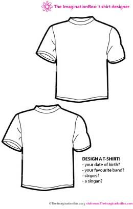 Design a T-Shirt Competition. Let the children design a