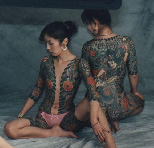 Yakuza tattoo tattoo pinterest yakuza tattoo tattoo for Female yakuza tattoo