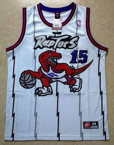 REALLY WANT!!! Toronto Raptors 15 Vince Carter Swingman Jersey White ... 0acb5c318
