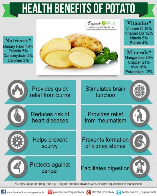 Health Benefits of Potatoes Potatoes are one of the most common and important food sources on the planet and they contain a wealth of health benefits that make them all t...