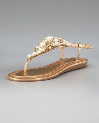 340a6988bae8c kate spade new york imani bead   crystal thong sandal - Neiman ...